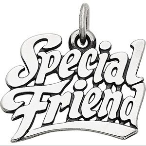 James Avery -Sterling Silver Special Friend,Charm